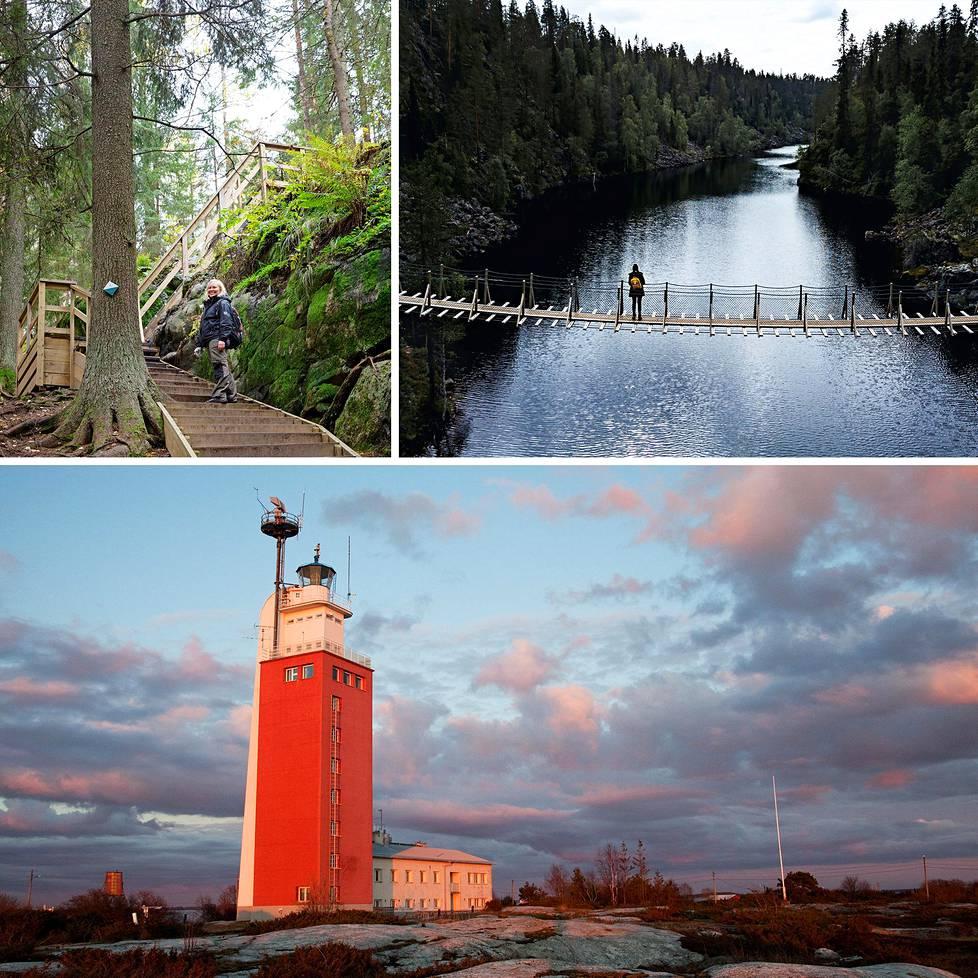 Suomen kansallispuistoissa riittää nähtävää.