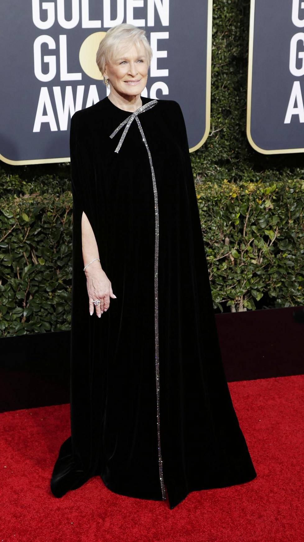 Glenn Close voitti parhaan draamaelokuvan Golden Globen.