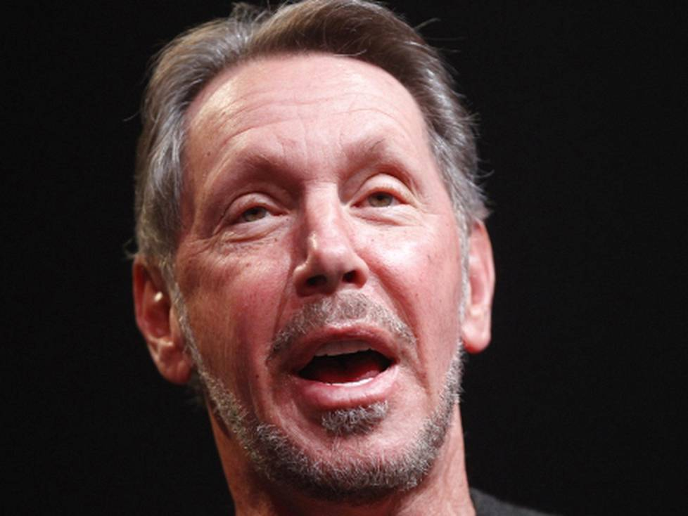 Larry Ellison NSA:n urkinnasta: It's great.