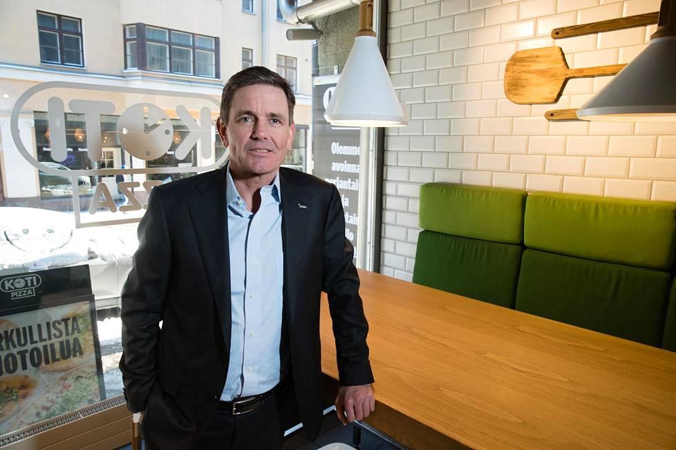 Orkla osti Kotipizzan tämän vuoden alussa. Tuolloin elintarvikejätin toimitusjohtaja Peter Ruzicka vieraili Suomessa.