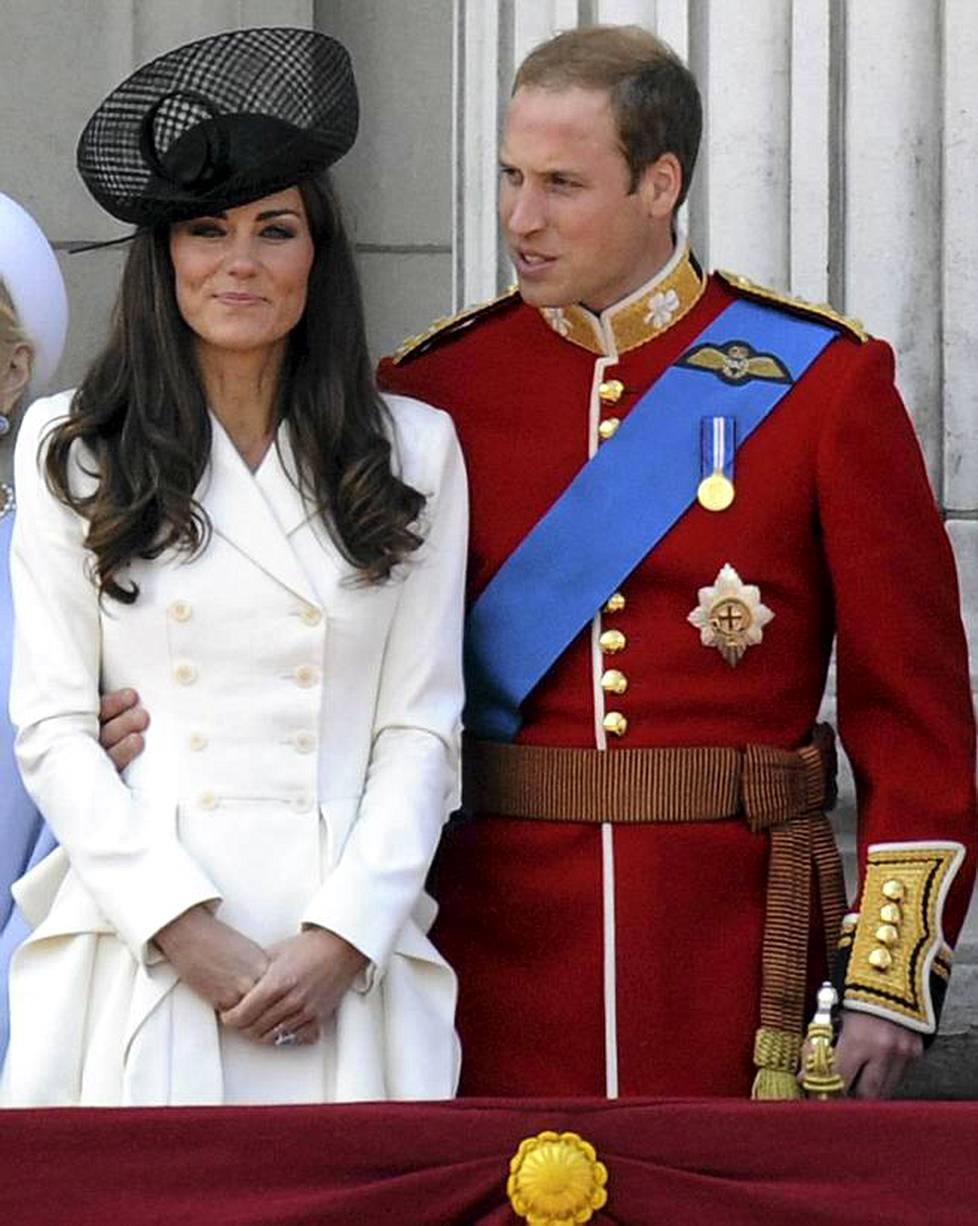 Cambridgen herttuatar Catherine ja prinssi William.