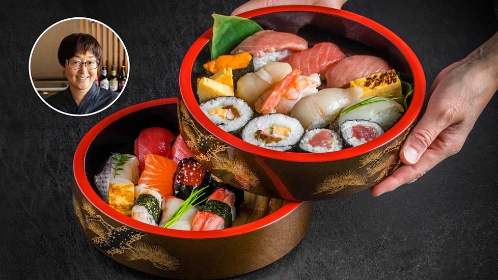 Japanilainen Yumi Sugano pitää omaa ravintolaa Helsingin keskustan liepeillä.
