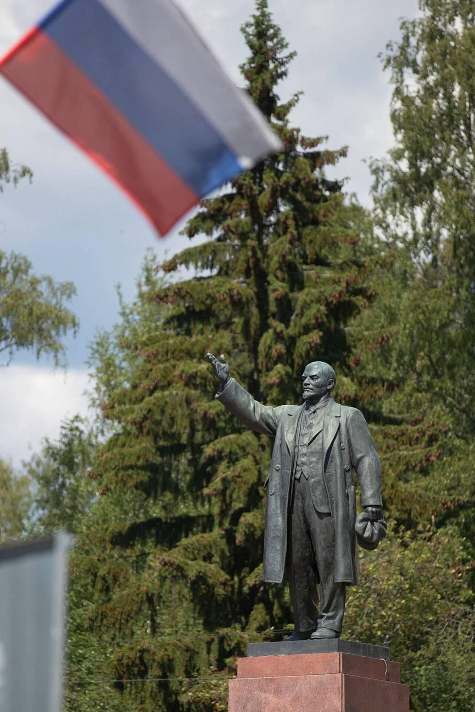 Vladimir Lenin patsas Terijoella.