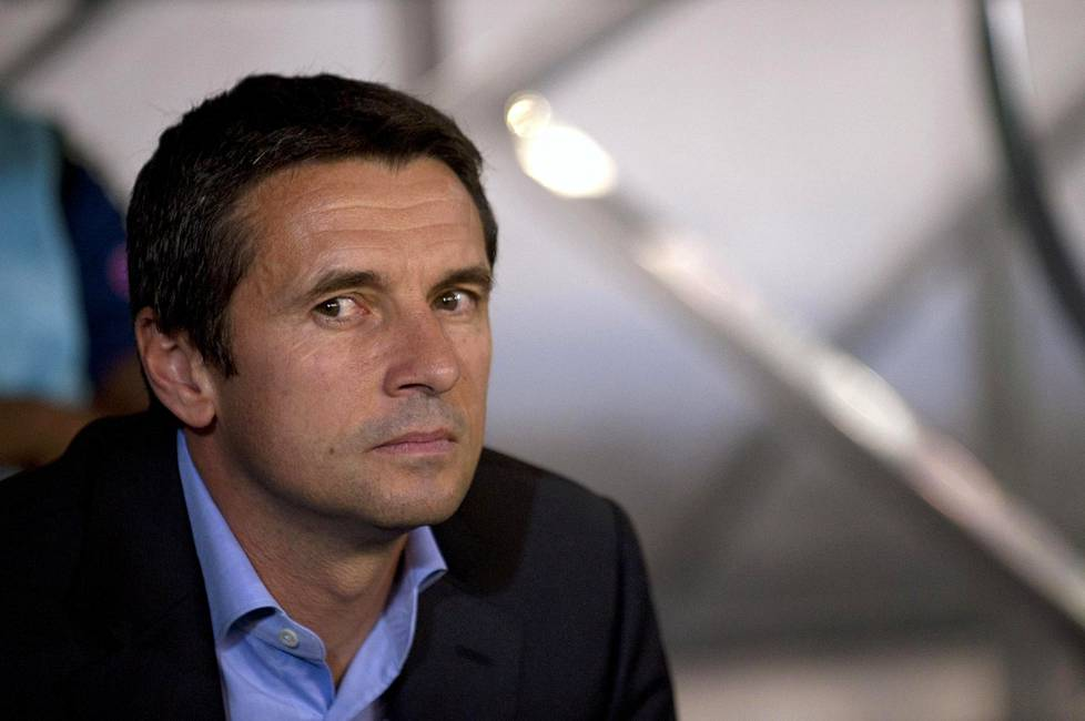 Remi Garde on Aston Villan uusi manageri.