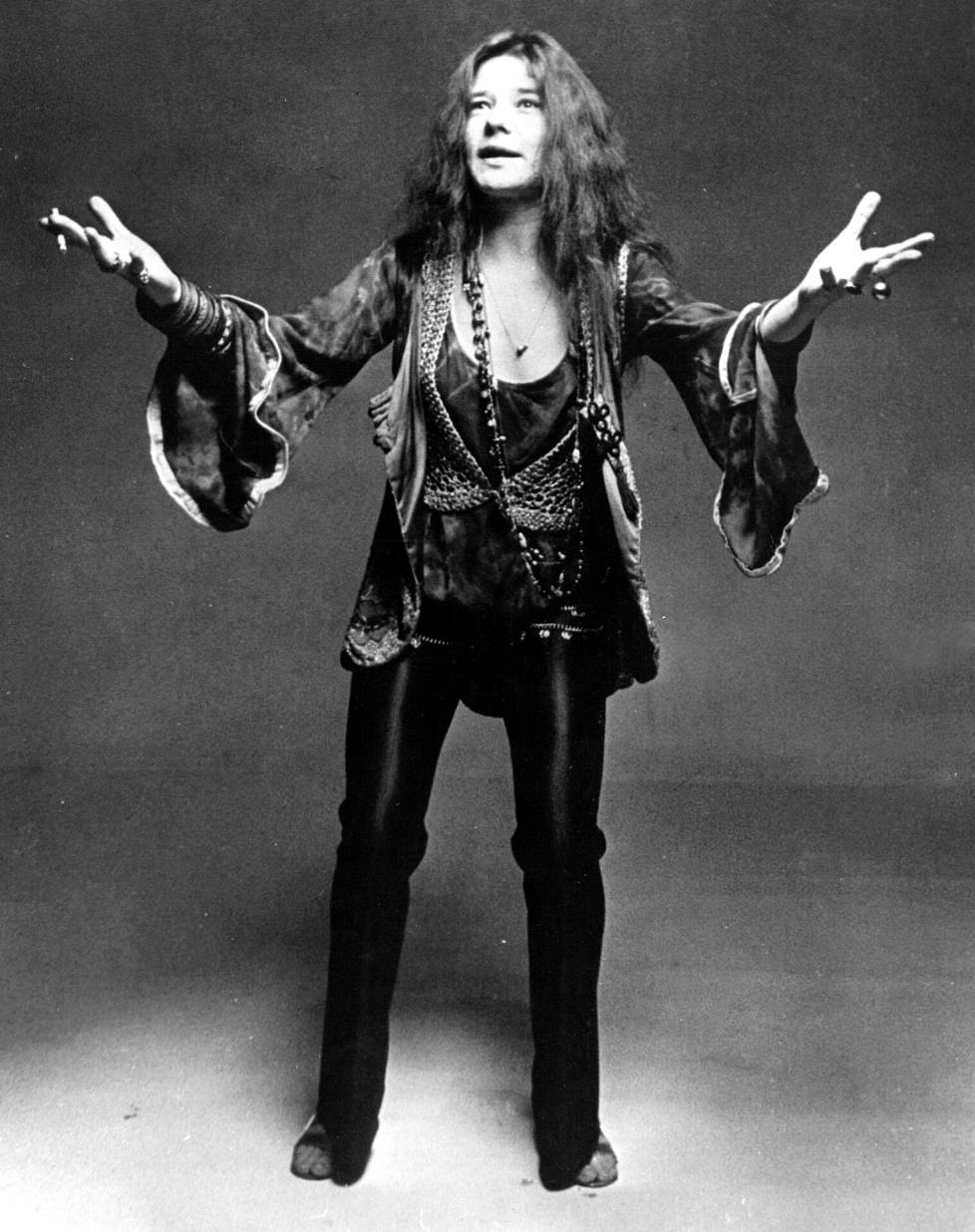 Janis Joplin kuoli yliannostukseen lokakuussa 1970 vain reilut pari viikkoa Jimi Hendrixin kuoleman jälkeen.