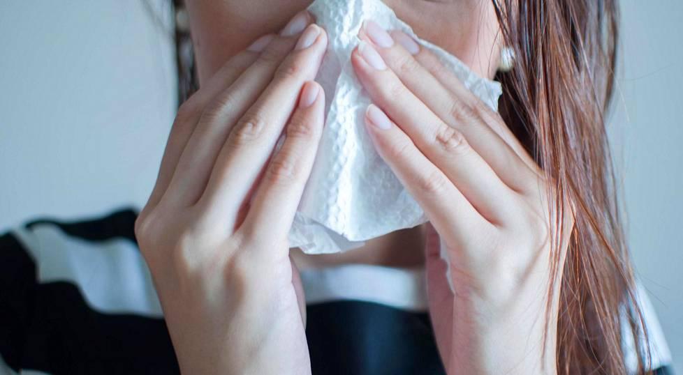 Hyvinvoivat nenän limakalvot muodostavat paikallisen immuunipuolustuksen, joka auttaa torjumaan infektioita.
