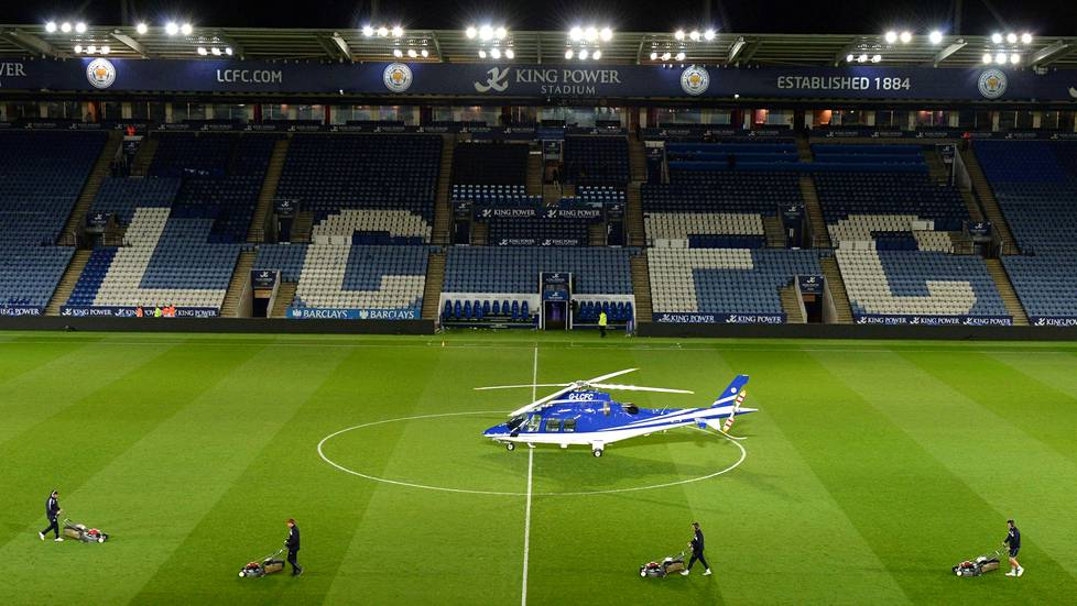 Leicester City pelaa King Power -stadionilla.