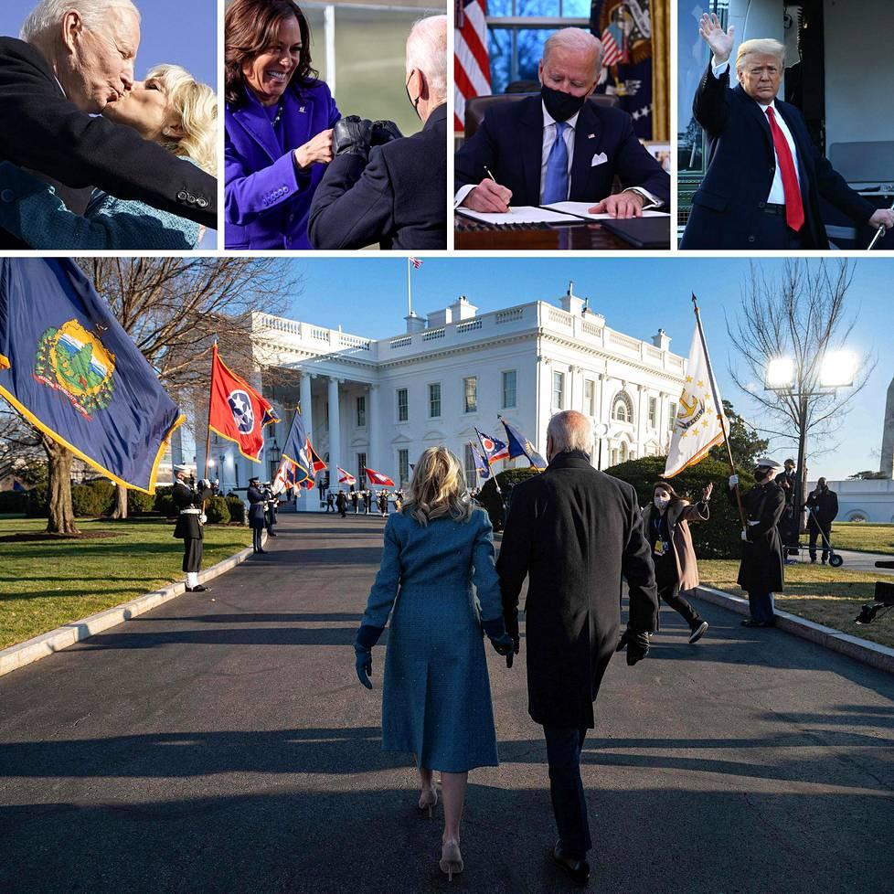Valta vaihtui Valkoisessa talossa keskiviikkona.