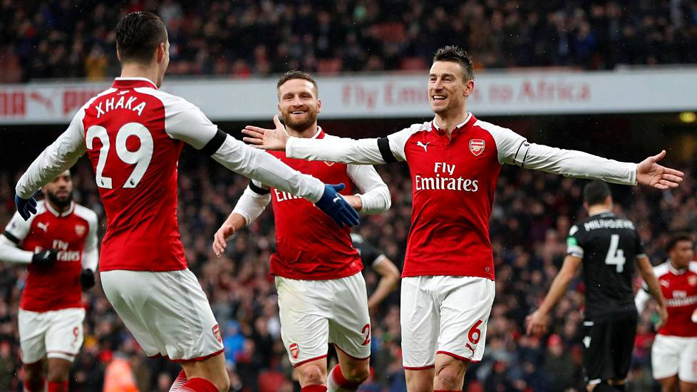 Arsenal voitti Crystal Palacen.