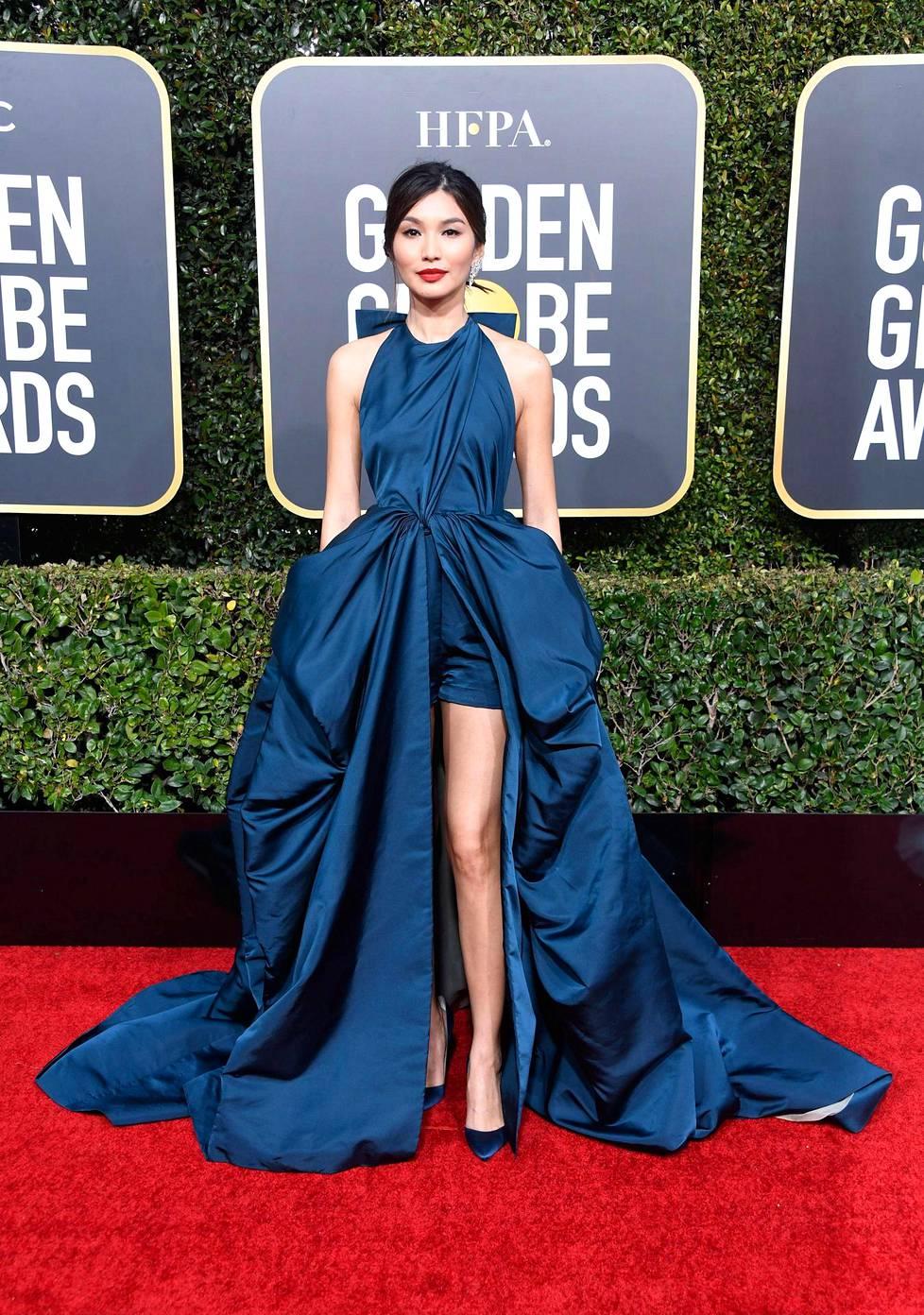 Gemma Chanin puku on kerännyt ylistystä muotiasiantuntijoilta.