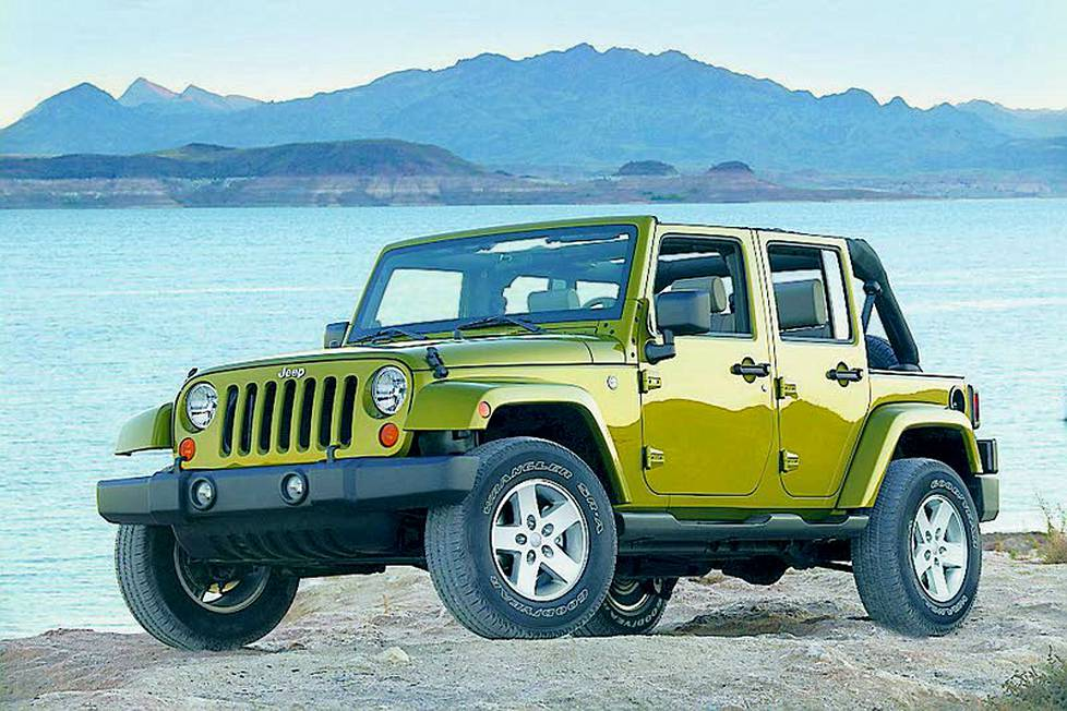 Jeep Wrangler Unlimited 2,8 CRD A5