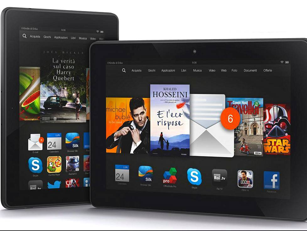 Amazon Kindle Fire HDX -tabletti.