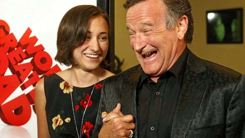 Zelda Williams sai nimensä The Legend of Zelda -pelistä.