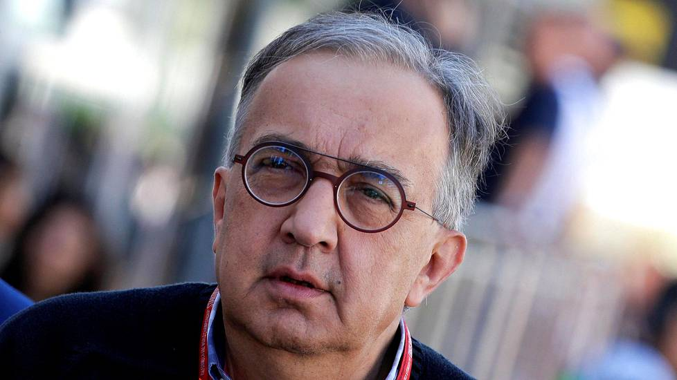 Sergio Marchionne on poissa.