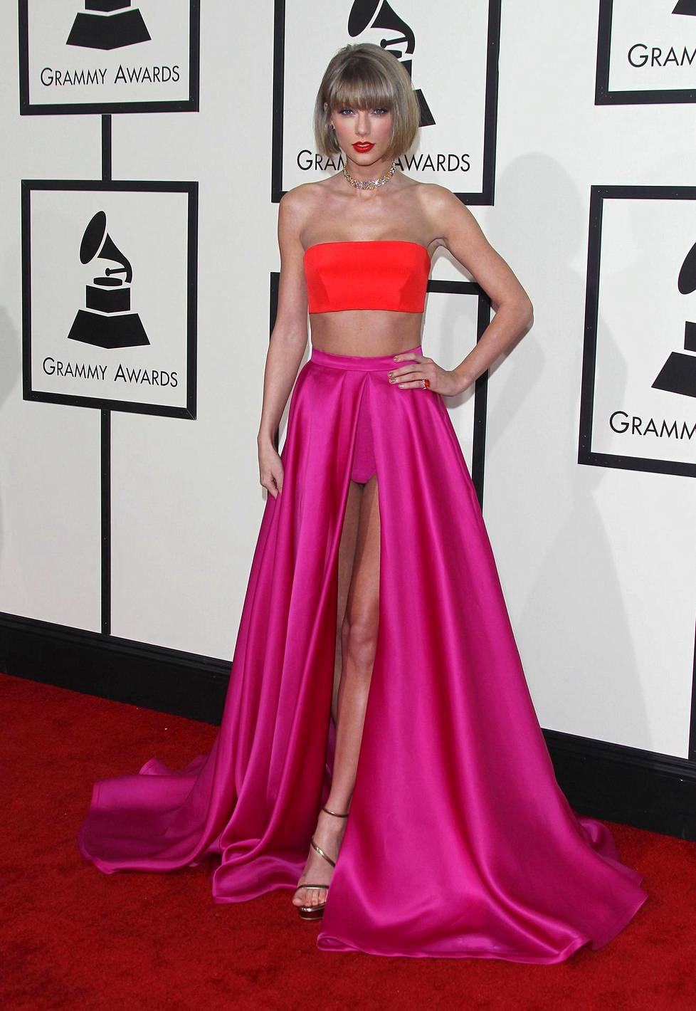 Taylor Swift Grammy-gaalassa.