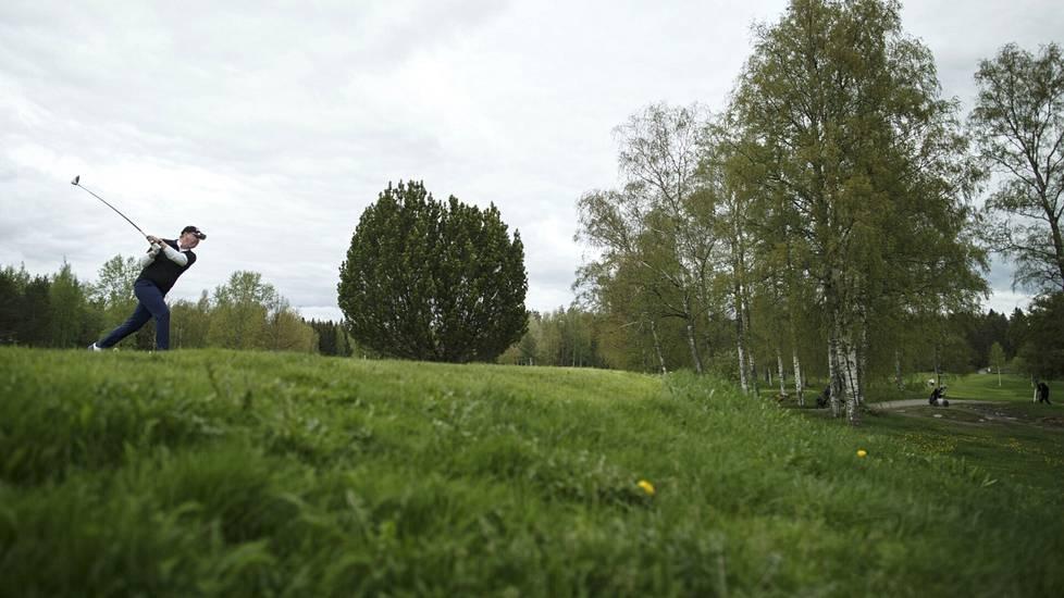 Golfin harrastajamäärät ovat kasvaneet koronan aikana väkevästi.