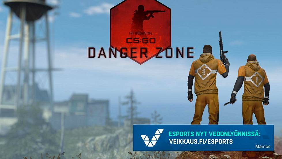 Danger Zone -pelitila on CS:n oma versio battle royalesta.