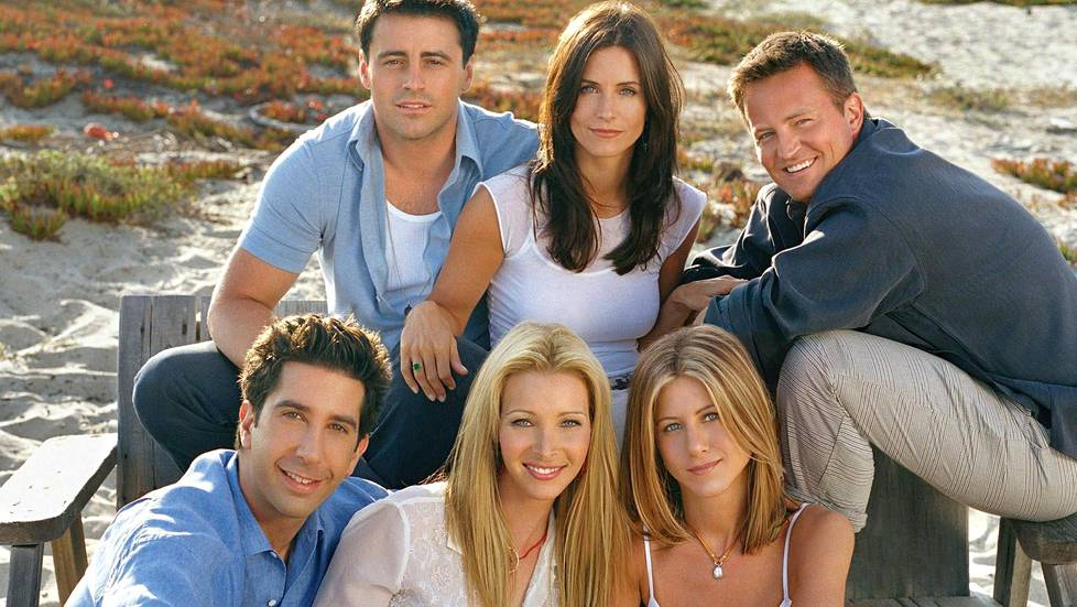 Frendien pääkastiin kuuluivat Matt LeBlanc, Courteney Cox, Matthew Perry, David Schwimmer, Lisa Kudrow ja Jennifer Aniston.
