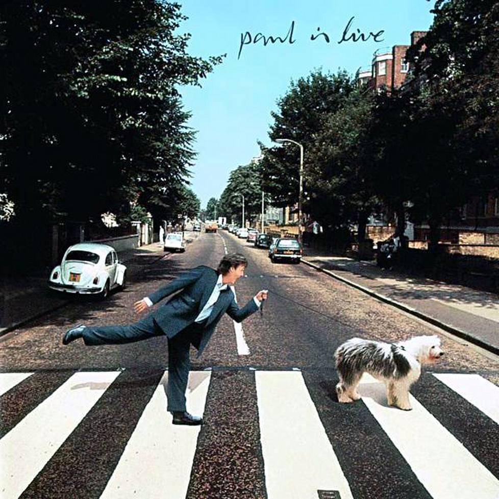 Paul is Live -albumi ilmestyi 1993. Siinä McCartney palasi vuoden 1969 huhuun ja antoi uusia vihjeitä: Nyt Volkkarin rekisteri on IS51 ja jaloissa on kengät. Kuvan koira on Martha My Dear-laulun innottajana toimineen lammaskoira Marthan pentu.