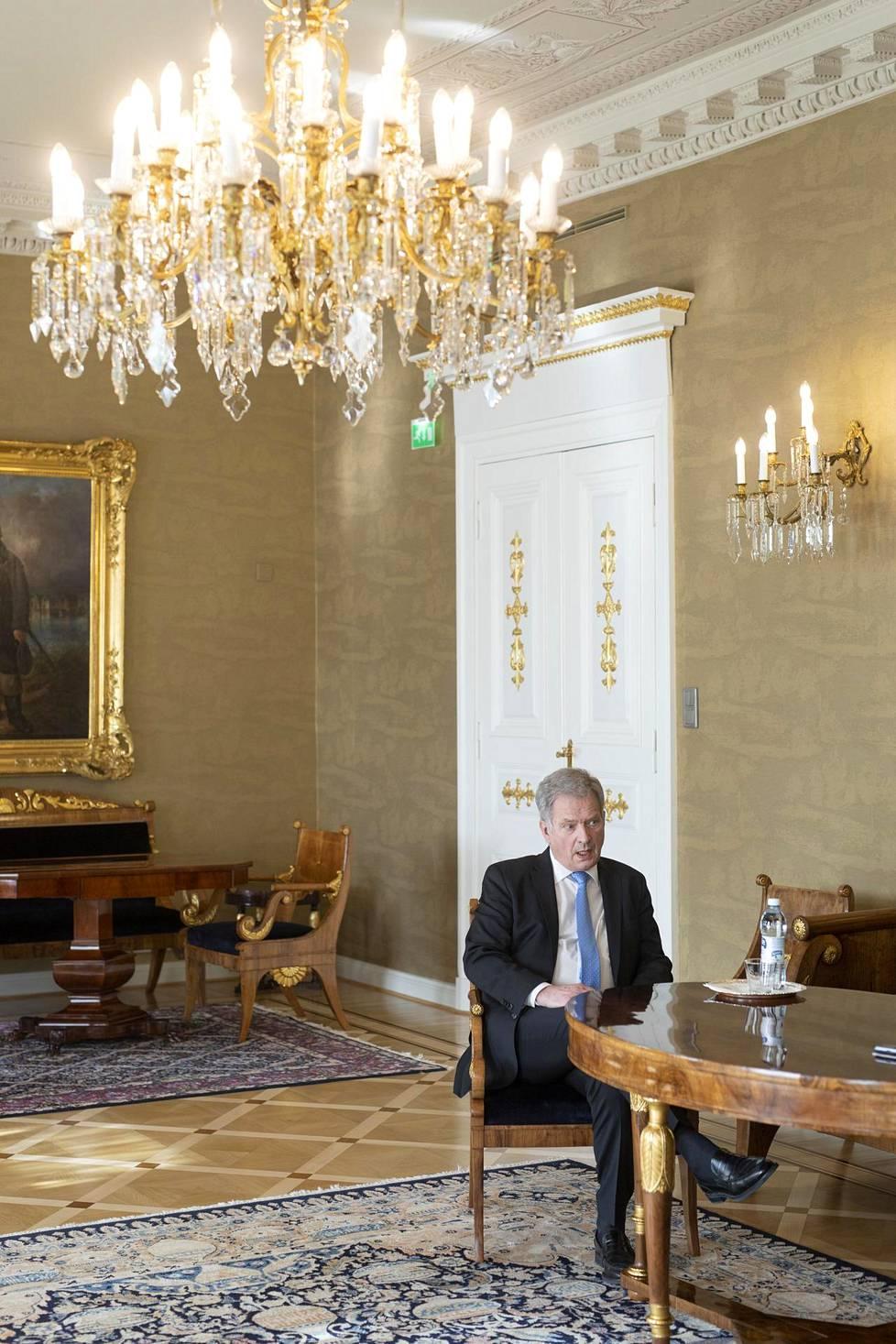 –Yrittänyt vakavasti varoittaa. En niinkään hallitusta, vaan suomalaisia, että ymmärrettäisiin, miten vaarallinen asia on käsillä, Niinistö sanoo.