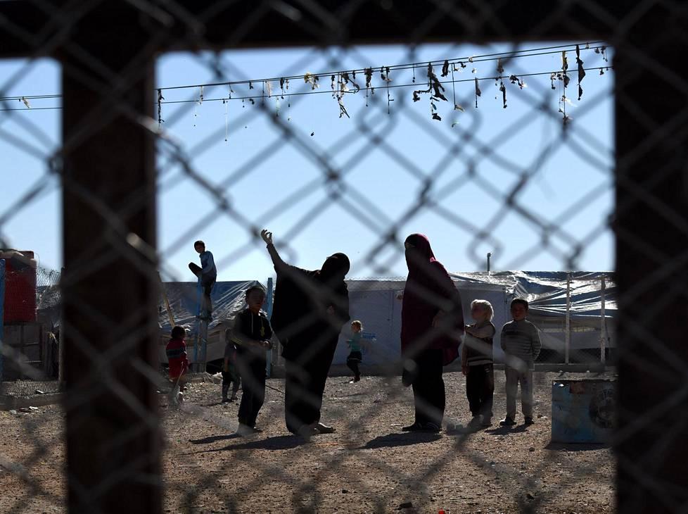 Kuva al-Holin leiriltä marraskuulta.