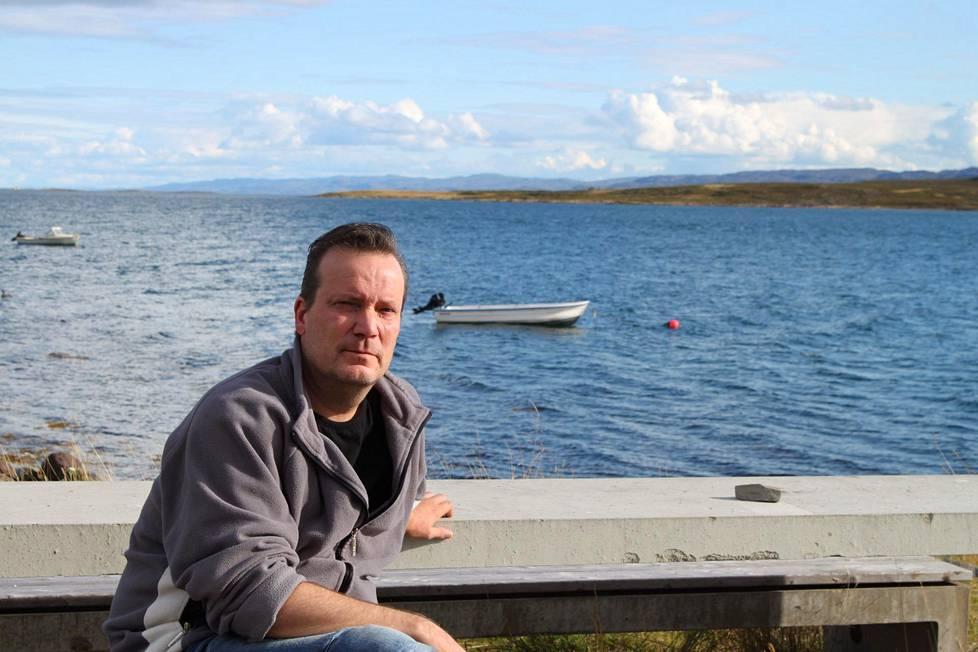Petri Mäkynen kuvattuna Norjan Nessebyssä elokuussa 2013.