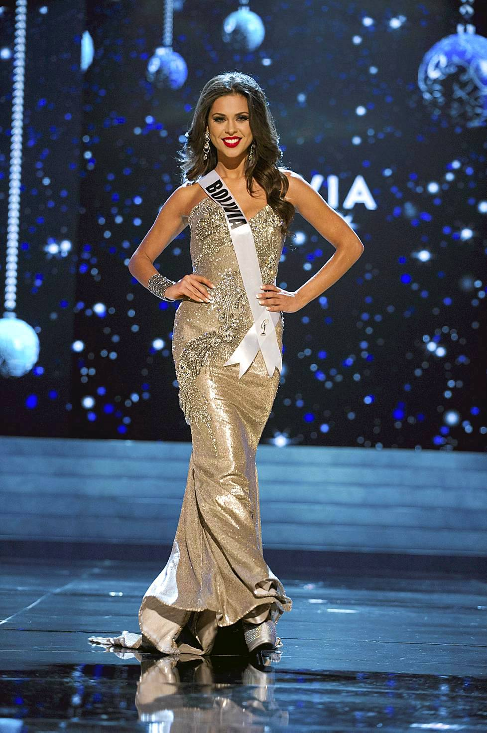 Miss Bolivia 2012 Yessica Mouton