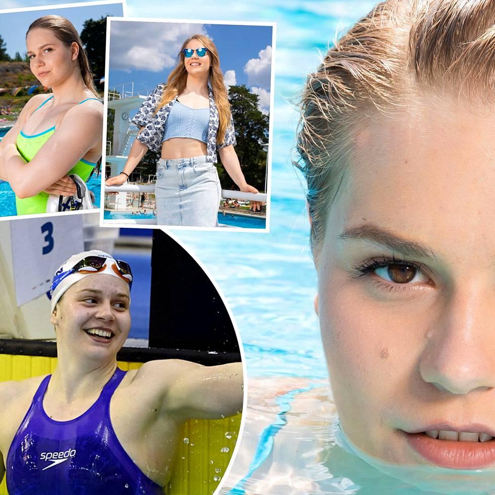 EM-hopeamitalisti Ida Hulkko ui Tokiossa ensi kertaa olympialaisissa.