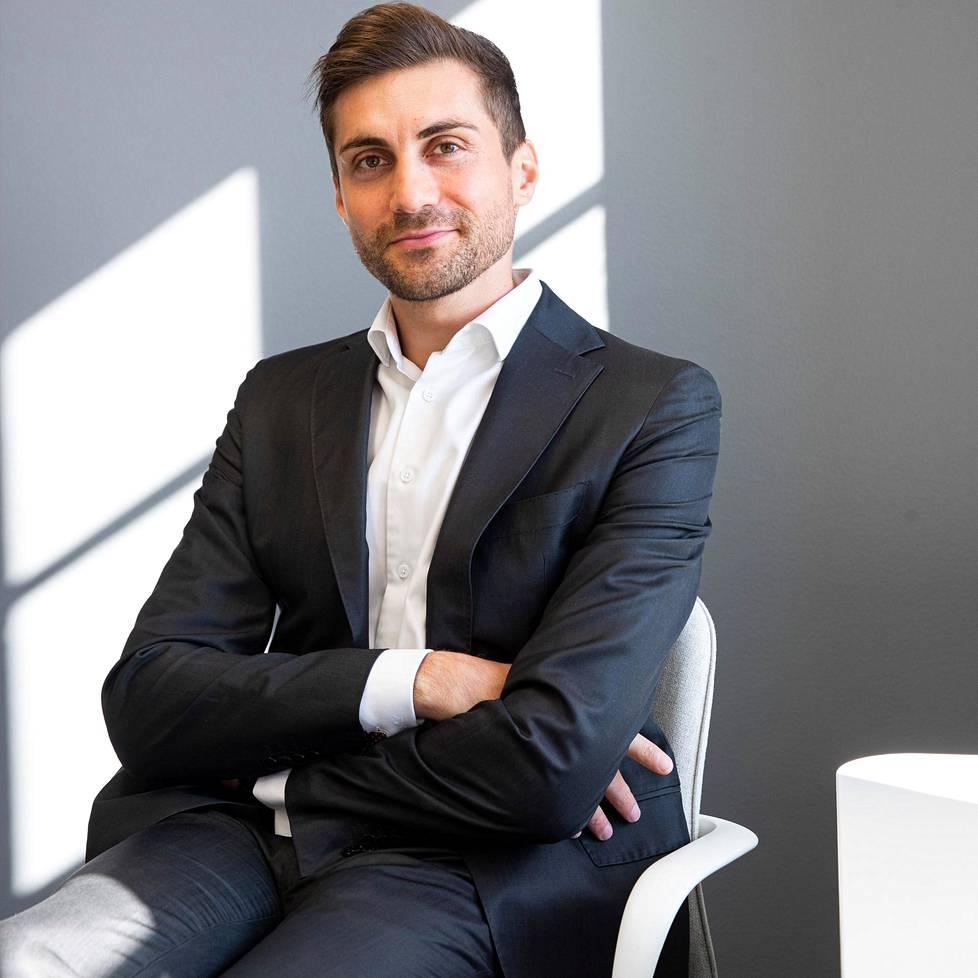 Sami Itani valittiin SUL:n puheenjohtajaksi syksyllä 2018.