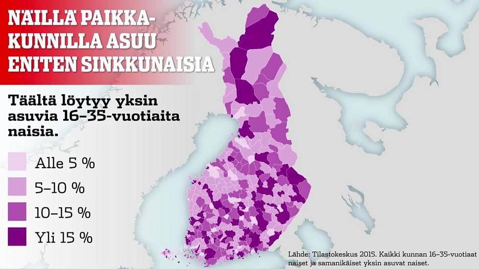 """Turku on sinkkunaisten pääkaupunki – """"Ei ole vikaa miehissä"""" - Kotimaa -  Ilta-Sanomat 2478127b14"""