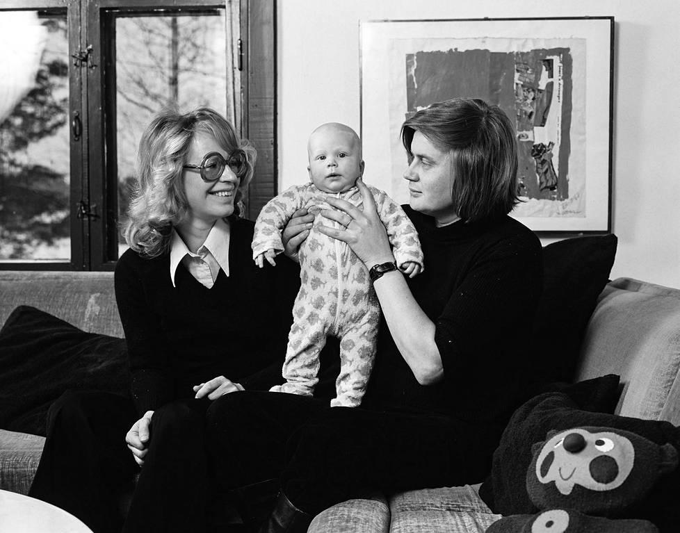 Kaari, Kai ja Lasse vuonna 1976.