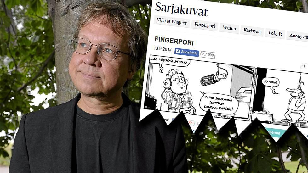 Fingerporissa Eritt 228 In Mustaa Huumoria Pekka Saurista