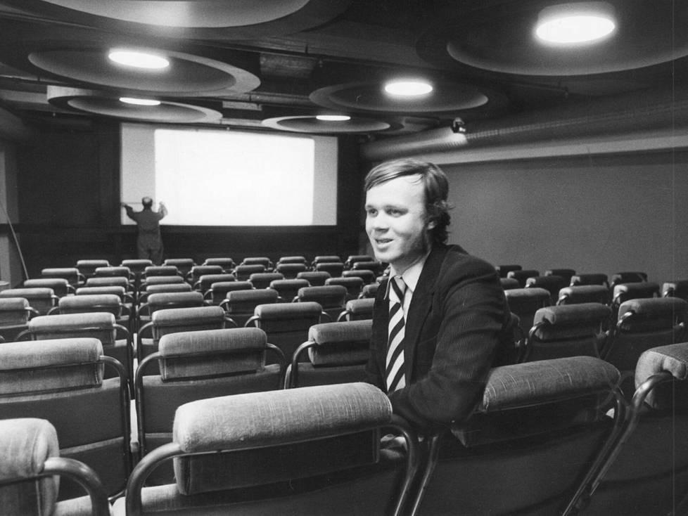 Jukka Mäkelä ja Bristoll 2 vuonna 1979.