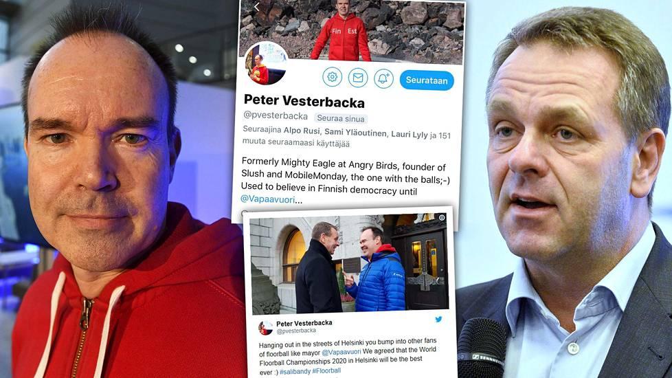 """Peter Vesterbackalta outo Twitter-purkaus Jan Vapaavuorta kohtaan –  """"Vesterbacka on selityksen velkaa"""" - Politiikka - Ilta-Sanomat 8ed75fbe1f"""