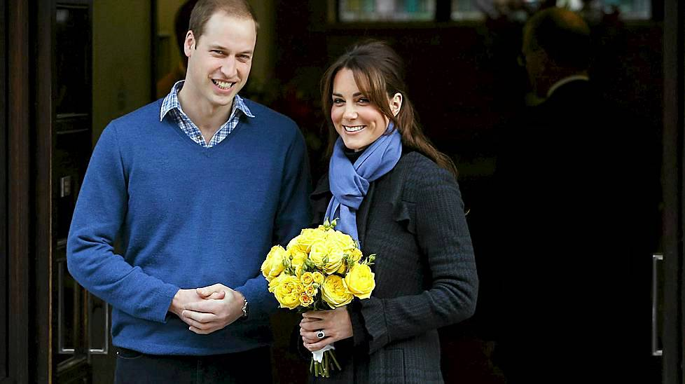 Prinssi William ja Cambridgen herttuatar Catherine