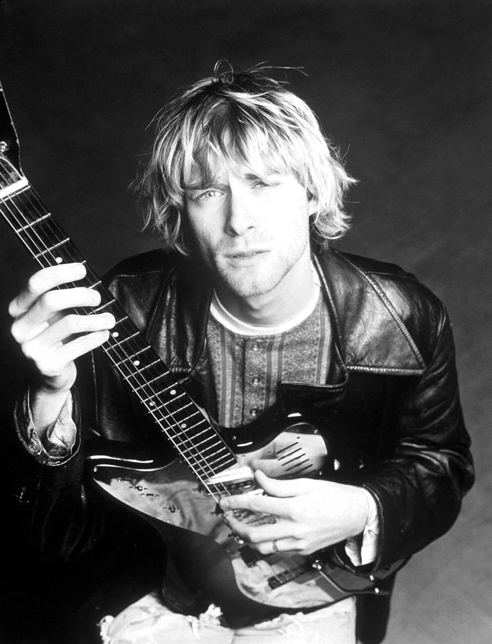 Kurt Cobain kuoli oman käden kautta 1994.