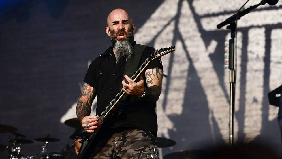 Kitaristi Scott Ian on kova The Walking Dead -fani.