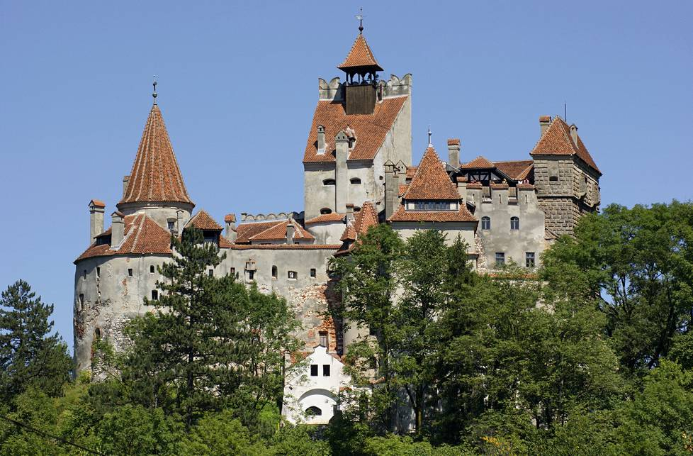 Bran Castle on tarinan mukaan Draculan koti.