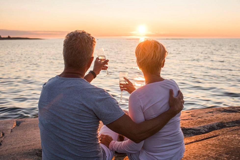 Ahvenanmaalla voit viettää rentoa luksuslomaa.