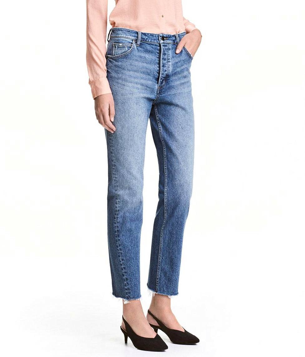 Straight Regular Jeans 39,99 €, H&M.