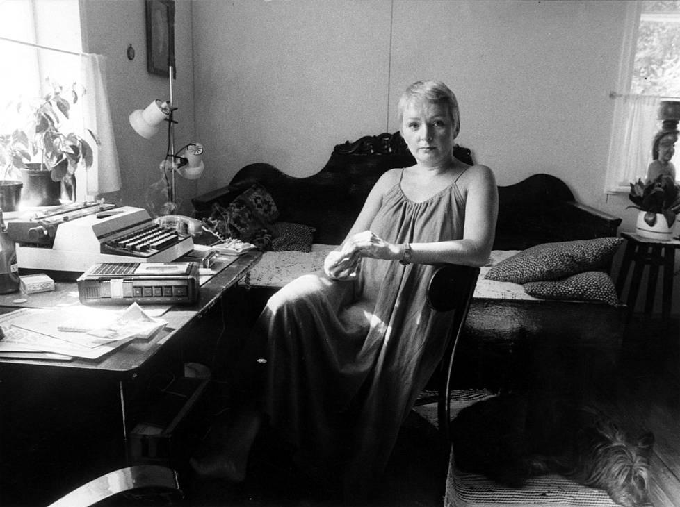 Raija Oranen elokuussa 1983.