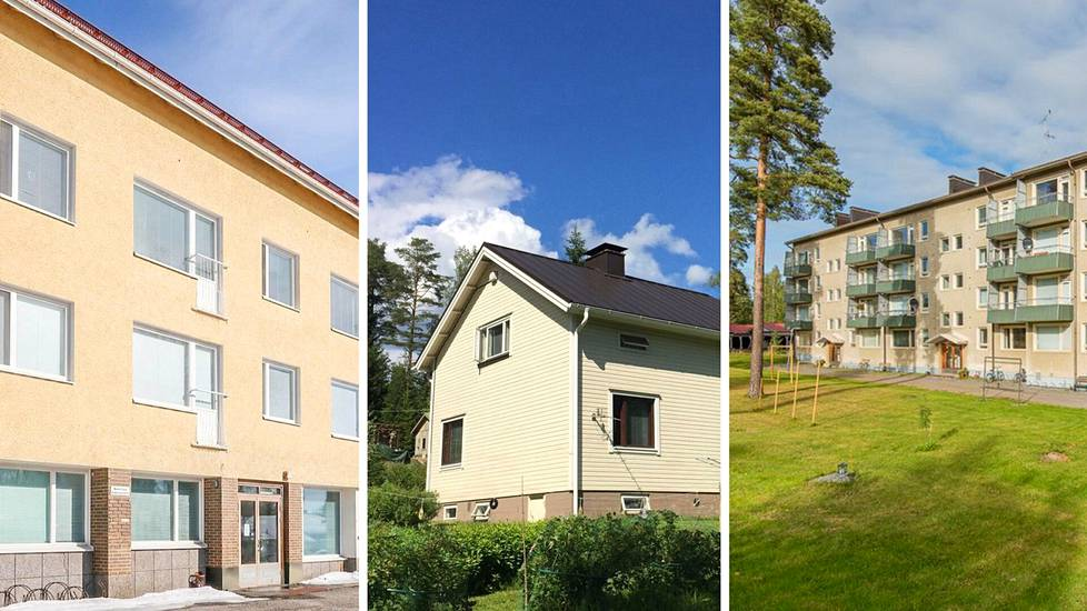 Halpojen asuntojen markkinat sijaitsevat lähes poikkeuksetta kasvukeskusten ulkopuolella. Niiden sydänmaita ovat harmaantuvat ja rakennemuutoksen jäytämät pikkukaupungit.