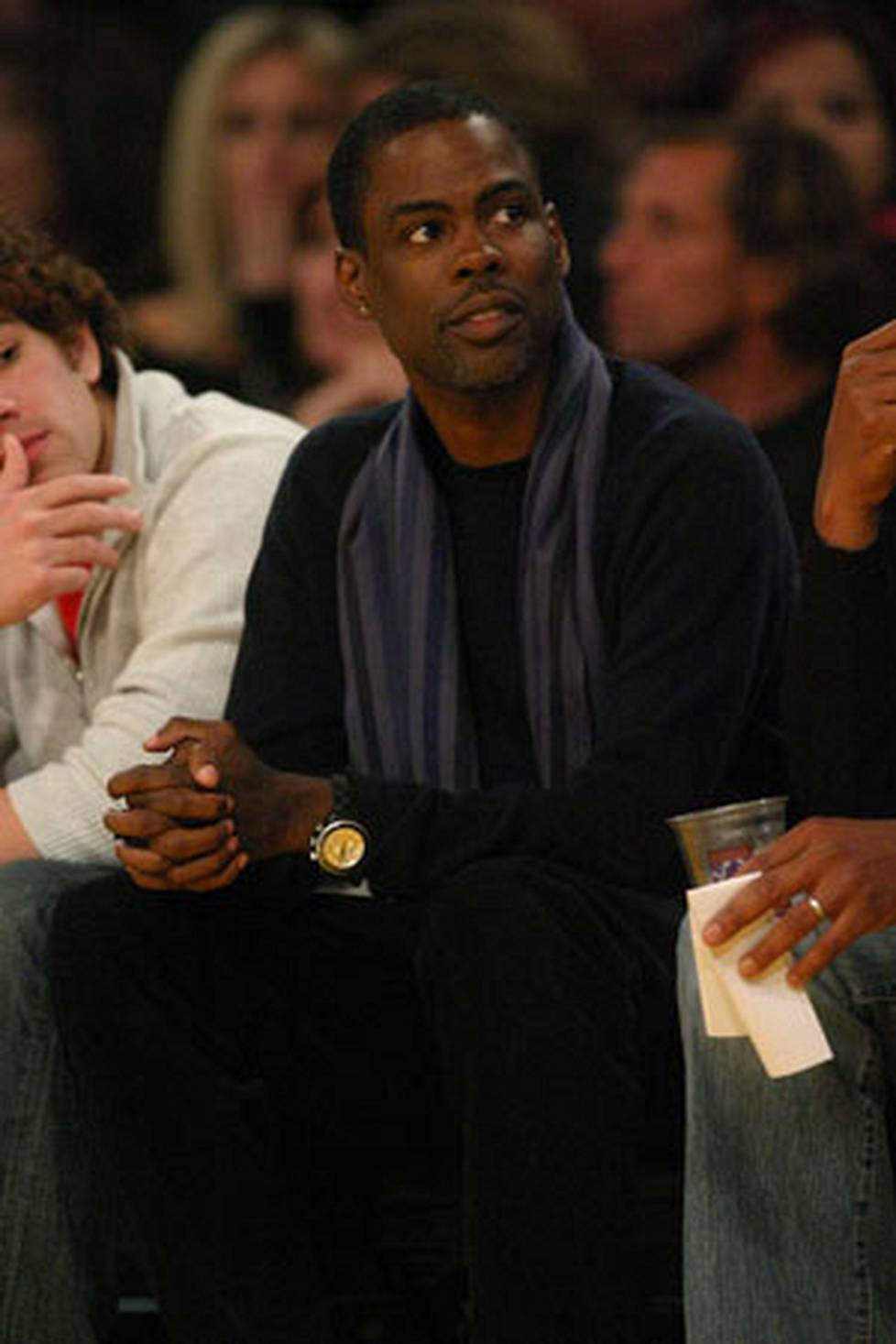 Moottoriturpa Chris Rock.