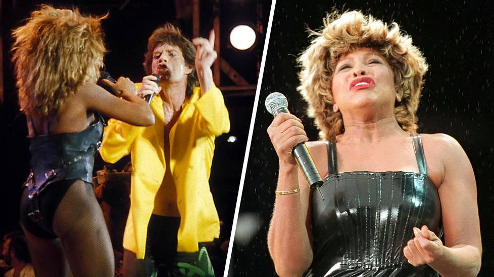 80 vuotta täyttävän Tina Turnerin ja Mick Jaggerin yhteiskeikka Live Aidissa vuonna 1985 jäi monen mieleen, sillä esityksen aikana Jagger riuhtaisi Tinan hameen irti.