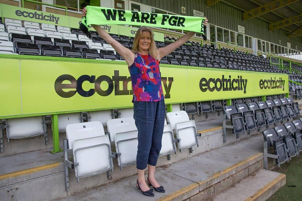 Forest Greenin entinen toimitusjohtaja Helen Taylor uskoo, että seura voi kannustaa ihmisiä vihreämpiin valintoihin.