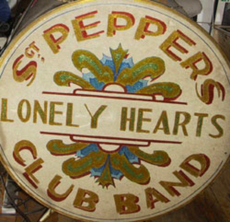 Sgt. Peppers Lonely Hearts Club Band -levy ilmestyi 1966.