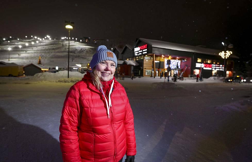 Visit Levin myyntipäällikkö Katja Rauhala.