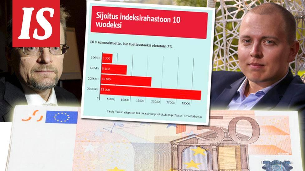 4 konkaria kertoo, mihin he sijoittaisivat nyt 100 euroa/kk ja 500 euroa kerralla