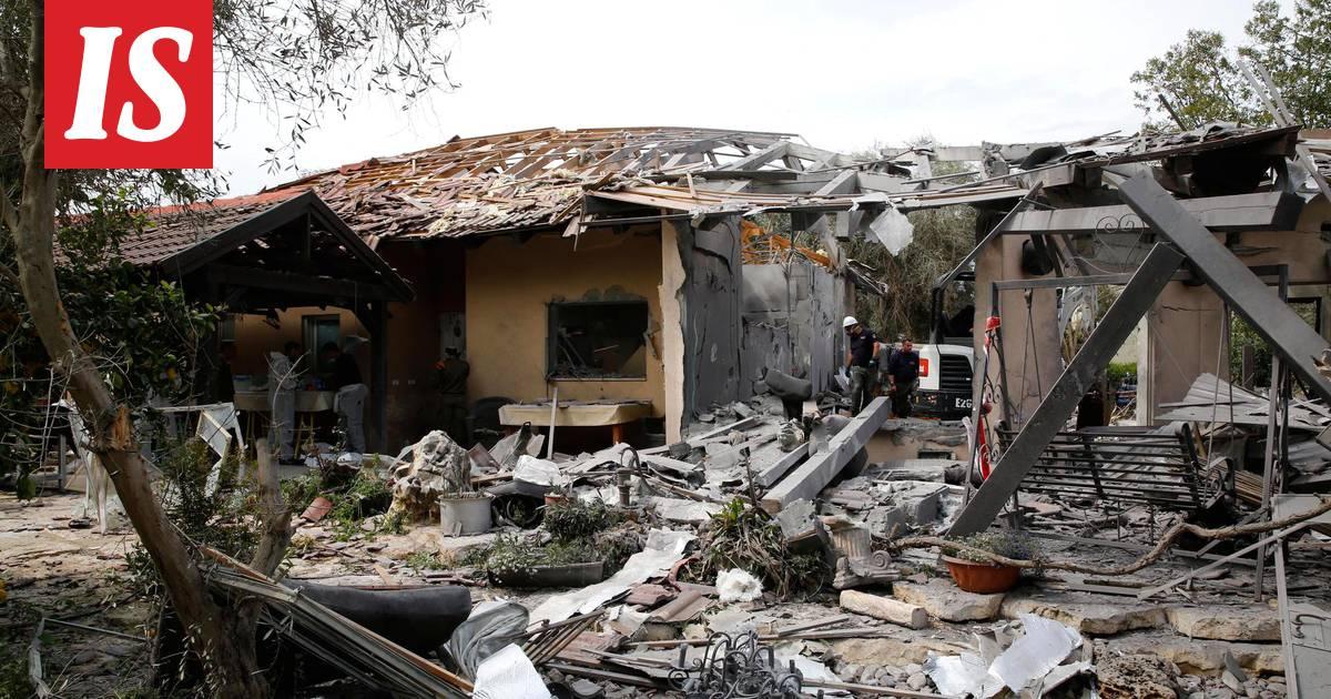 Israelin armeija syyttää raketti-iskusta Hamasia – lähettää lisäjoukkoja Gazaan - Ulkomaat ...