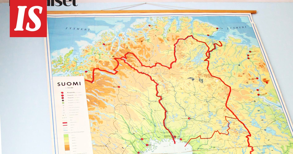 Kuinka Hyvin Tunnet Suomen Kartan Jos Saat Testissa Kaikki 14